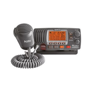 VHF stasjon¾r MR F75EU+ Sort - Cobra